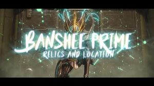 Warframe Banshee Prime Drop Relics + Best Place to farm them