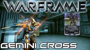 Warframe Stance Showcase Gemini Cross