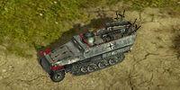 SdKfz 251 repair truck