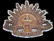 Australian Army Rising Sun Badge 1904