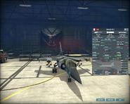 WAB Mirage F1CT armory