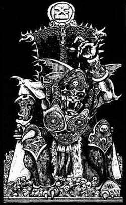 Khorne Skull Throne