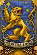 Celestial lions banner