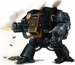 Imperial Fists Dreadnought Deathwatch