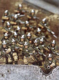 Whiteshield Conscript Platoon