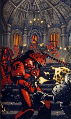 Blood Angels Defend
