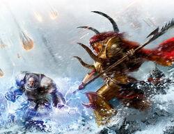 Harek Ironhelm vs Magnus