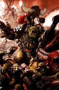Red Waaagh! Warlord Grukk