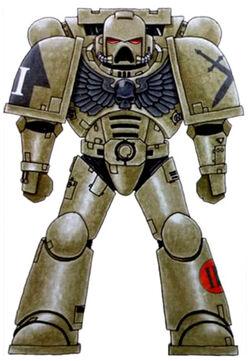 Emperor's Warbringers Marine