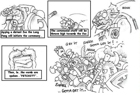 Humor - Space Wolves Fetch It