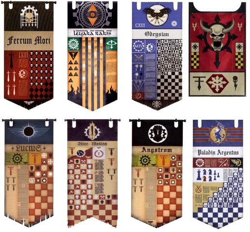 File:Legio Titanicus Banners.png