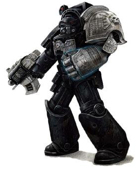 Deathwatch 1st Co. Veteran