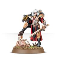 Canoness Veridyan Order of Our Martyred Lady Adepta Sororitas 7th Edition miniature