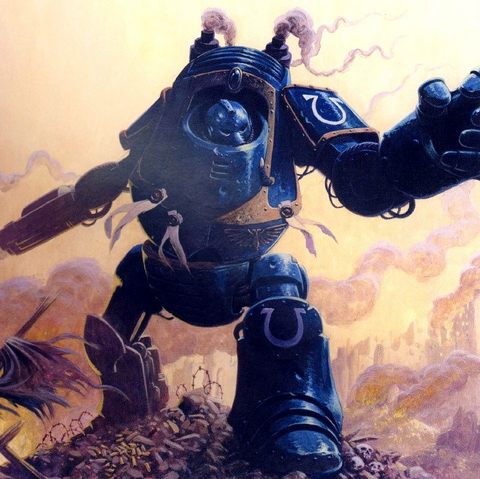 File:Ultramarine Heresy Justarius Dreadnaught.png