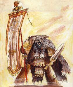 Thunder Warrior Standard Bearer