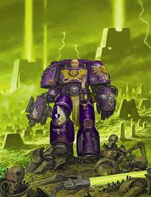 Soul-drinker necrons cover