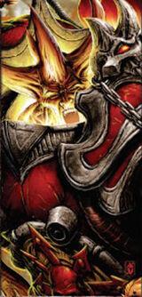 Daemon Primarch Lorgar 2