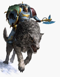 Harold Deathwolf Mounted