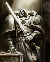 Iron Knight statue