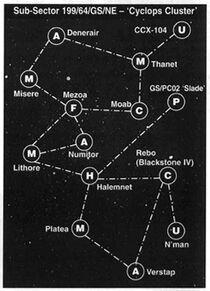 Cyclops Cluster Map 2