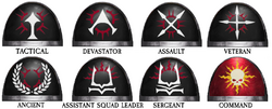 Helion Legion Armorials