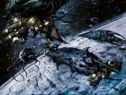 Tyranid Hive Fleet Bioships