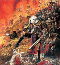 Veridyan Battle Sisters Ecclesiarchy John Blanche illustration