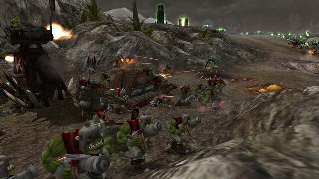File:10. Orks pushing for Necrons.jpg