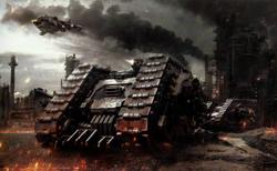 Chaos Land Raider Proteus Battle