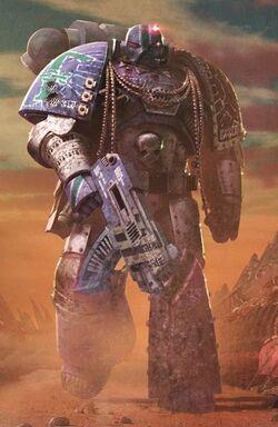 AlphariusOmegron Power Armour