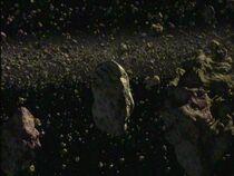 Caliban asteroid belt