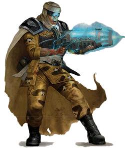Tallarn Desert Raider Plasma Gun