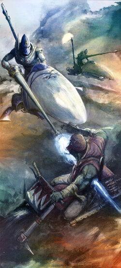 Shining Spear Aspect Warriors