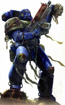 Ultramarines Artificer Armour