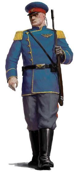 Mordian Iron Guard trooper