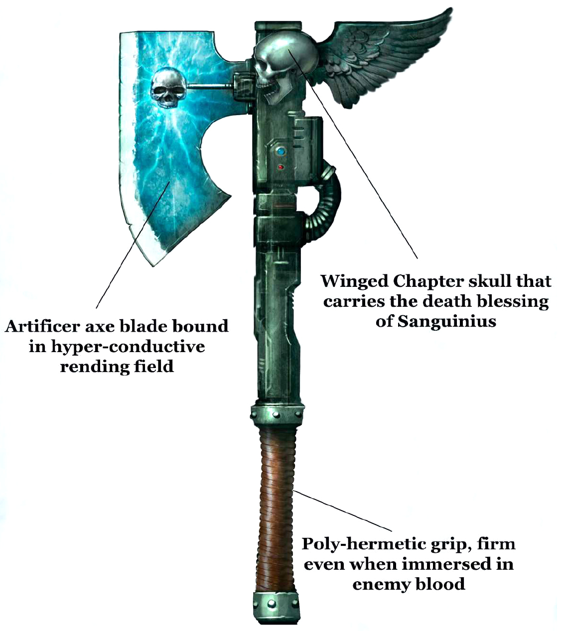 Image - Force Axe Diagram.jpg | Warhammer 40k | FANDOM powered by ...