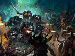 DW Kill Team vs. Tyranids