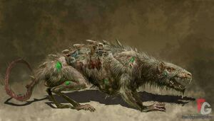 Warhammer Skaven Plague Rat