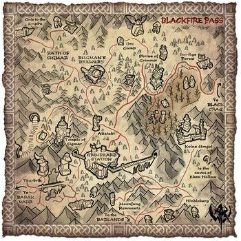 Black Fire Pass map