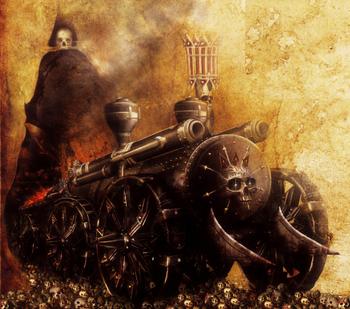Iron Daemon Chaos Dwarf Colour Tamurkhan Illustration