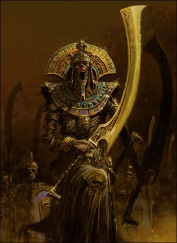 Tomb King 8th Edition Colour Illustration
