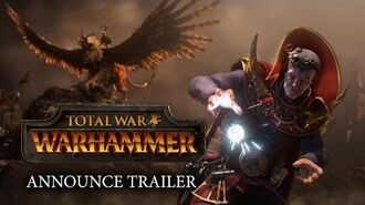 Total War WARHAMMER – Announcement Cinematic Trailer