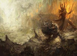 The great betrayal warhammer by faroldjo-d6t429w