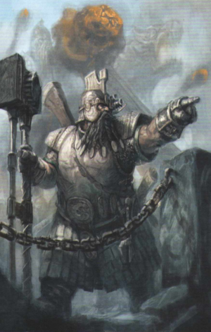 Warhammer Dwarf Master Engineer
