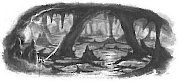 Underworld Sea Black&White Illustration