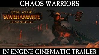 Total War WARHAMMER - Chaos Warriors – In-Engine Cinematic Trailer ESRB