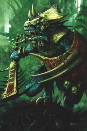 Warhammer Lizardmen Temple Guard