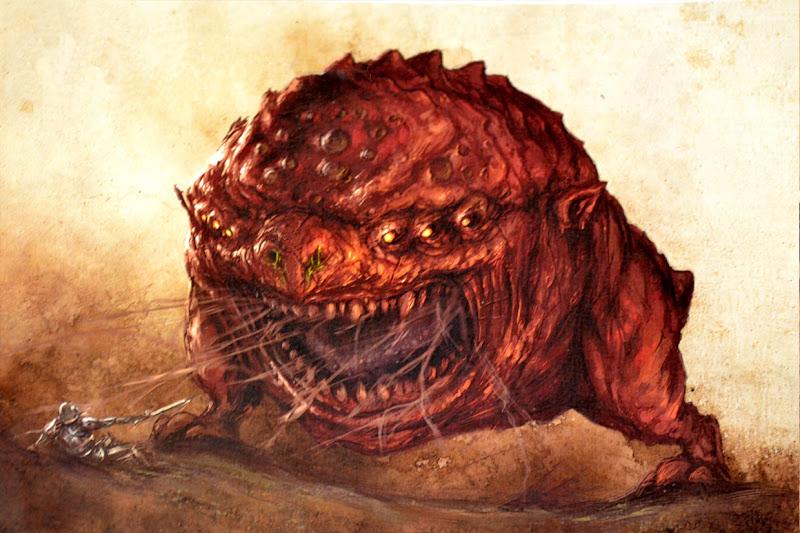 Colossal Squig Warhammer Wiki Fandom Powered By Wikia