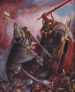 Archaon VS Valten