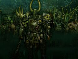 Warhammer online chaos nurgle wallpaper by david mills-d4mq1tm